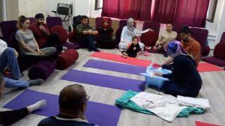 Anne-Baba adayları  birlikte eğitime