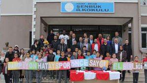 """Hatayspor'dan """"El Birliği Projesi""""ne destek …"""