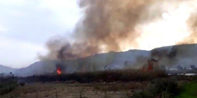 Samandağ'da aynı gün 2 yangın