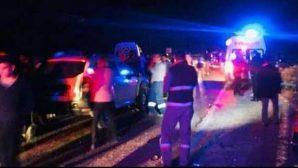 Yayladağı yolunda trafik kazası