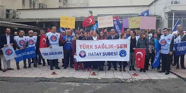 Türk Sağlık Sen, alınteri karşılığını istiyor…
