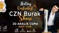 BURAK, 20 Aralık'ta İzmir'de…
