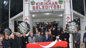 Kırıkhan eski Belediye Başkanı  Aydın Falay vefat etti.