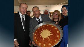 Antakya Peynirli Künefesinde Simge: