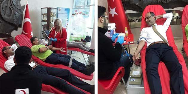Defne'de Kan Bağışı…
