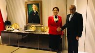 İYİ Parti İl Başkanı, Genel Başkanı ile görüştü: