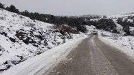 Antakya'ya yılın ilk karı