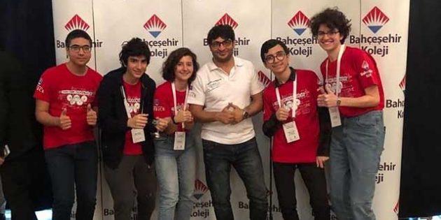 Matematik Olimpiyatları Türkiye İkinciliği Hatay Bahçeşehir'in