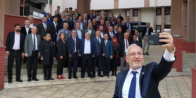 Başkan Tosyalı'dan Selfıe