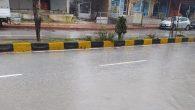 Harbiye yolunun yağış sonrası hali