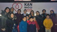 Antakya'da 2 İlkokulda Kan Bağışı