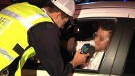 Direksiyon başında 70 Alkollü Sürücü Ehliyetleri 6 Ay İptal…