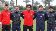 Hatayspor'da altyapıdan  5 futbolcu  A Takımda