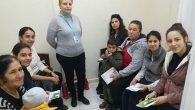 Anne adaylarıyla eğitim…