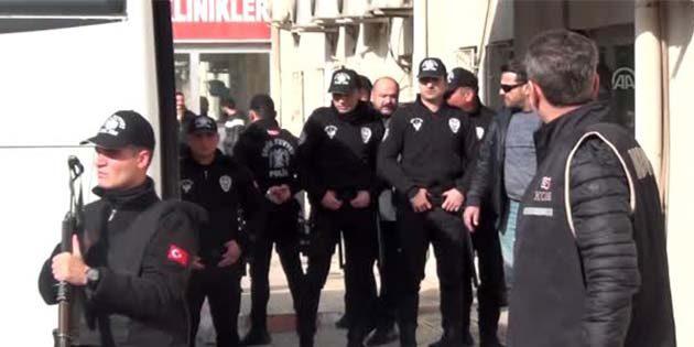 10 tutuklama var