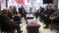 İyi Parti Heyeti Ziyareti AKP İl Başkanına