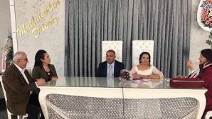 Kırıkhanspor tribün lideri evlendi