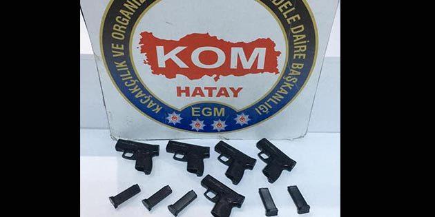 Hatay KOM Polisi, Kırıkhan'da silah tüccarını yakaladı