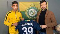 Nişrinspor'dan  bir transfer daha