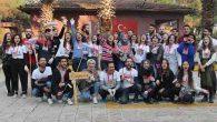 MKÜ Öğrencileri Kolları Sıvadı,  Sınırdaki Okulları Onardı