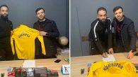 Nişrinspor'un yeni transferi Suriyeli Kaleci…