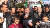 Antakya'daki Suriyeliler Eylemi…