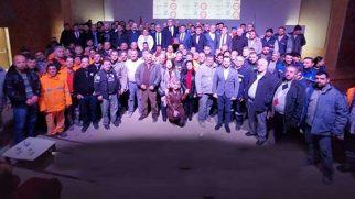 Samandağ Belediyesi ile DİSK arasında imza töreni