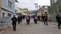 İskenderun'da 200 Polisle Uyuşturucu  Operasyonu