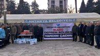 Antakya Belediyesi'nden yardım kampanyası