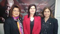 Kumlu'da CHP Kadın Kolu yeni Başkanı Çiğdem Kanat