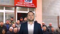 CHP'nin Antakya'da ilk mahalle teşkilatı