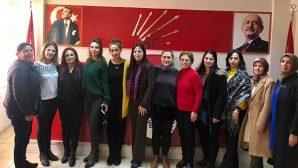 Antakya CHP'de kadınlar görev bölümü yaptı