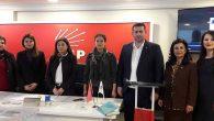 Samandağ CHP'de Kadın Kolları Başkanı Yüksel Berber
