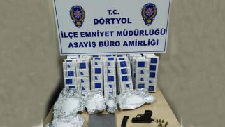 Polisten kaçak sigara  operasyonu …