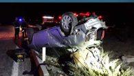 Hatay Otobüsü Denizli'de kaza yaptı