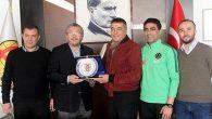 Eskişehirspor'a Hatayspor maçı öncesi moral ziyareti: