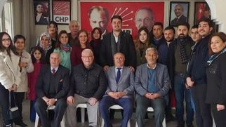 Kırıkhan CHP Gençlik Kolu Başkanı  Ömer Ulaş  Hirfanoğlu