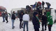 Bursaspor Kafilesi Kaza Geçirdi