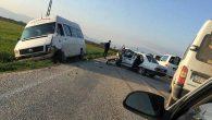 Reyhanlı-Hacıpaşa kavşağında kaza
