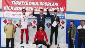 Kick Boks Türkiye Şampiyonası Antalya'da yapıldı