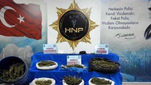 Hatay KOM Polisi operasyonları;  Hatay ve Gaziantep'te: