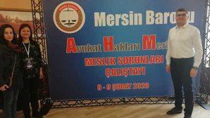Avukatlık Çalıştayı Mersin'de