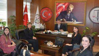 MHP'li Kadınlardan Hukukçu Ziyareti