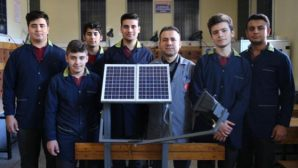 Meslek Liselilerin Güneş Paneli Projesi