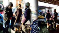 Pazarcıların Soğukla İmtihanı