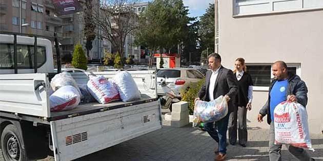 Antakya Belediyesi Kampanyasında: