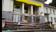 PTT Merdivenleri Çöktü