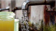 58 çeşmede su kirli