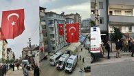 Şehit Evlerine Türk Bayrağı