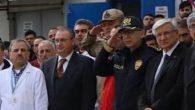 Şehit Cenazesinde AKP-CHP  İl Başkanları Yanyana